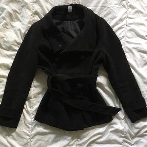 Black Pea Coat (HM)